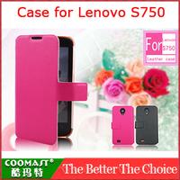 COOMAST  1PCS 100% original  Leather Case for Lenovo S750
