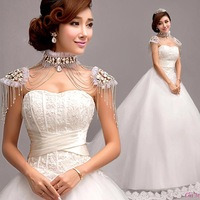 Cii Korean Korean Princess Bride Bra trailing wedding dress new winter latest