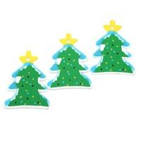 Wholesale 100pcs Wooden Painting Pendant Xmas Tree Decor Hanging Gift 5Styles 62539 -62543