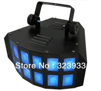 20w Led Double Derby Light Tri-color RGB Stage Lighting
