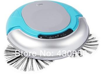 3 In 1 Multifunctional Mini Robot vacuum cleaner(, Auto Sterilizing,Air Flavoring) ,strong vacuum,new design,Blue color