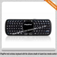 Free Shipping!!IPazzPort mini wireless keyboard with the silicone sheath of xiaomi box remote control
