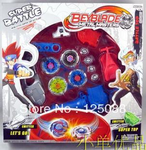 Free shipping 2013 hot sale beyblade arena spinning top Metal Fight Beyblad Beyblade Metal Fusion 4pcs/set children gifts toys(China (Mainland))