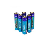 6 pcs/lot Powerful 1.5V AAA 1100mAh Lithium ion polymer Rechargeble Battery  Stable voltage !  5 years warranty