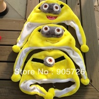 New arrival Stuffed Cartoon Animal Hat Minion Caps Plush Toys