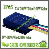 Water Proof 12/24V auto Wind Solar Hybrid Street Light Controller 12V(max 400W wind+150W solar)/24V(max 600W wind +300W Solar)
