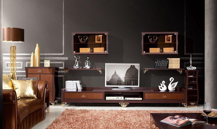 Achetez en gros armoires permanent en ligne des for Meuble de salon en bois moderne