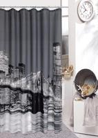 The shower curtain for the bathroom Js4182 terylene    bath curtains