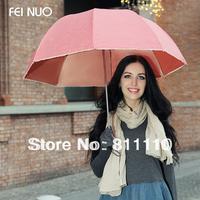 Women's Umbrellas 2013 New fashion High Quality dot Folding umbrella luxury Rain prevented bask  6 Colors