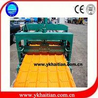 Glazed Tile Steel Roofing Sheet Tile Manufacturer Machine
