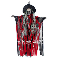 1 Set Halloween costumes terrorist monster as their supplies decorations on their electric acoustic pointed hat little ghost