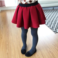2013 children's clothing spring and autumn female child solid color pleated skirt bust skirt short skirt jlfbo25