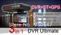 2.7 inch DVR with radar detector GPS G sensor 1280x720p 30fp New Russian Strelka-ST 120 degree