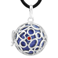 6PICS/lot  Mum to be baby ball with cage Mexico bola Pregnancy Pendant  belly bali Necklace 6H27A03