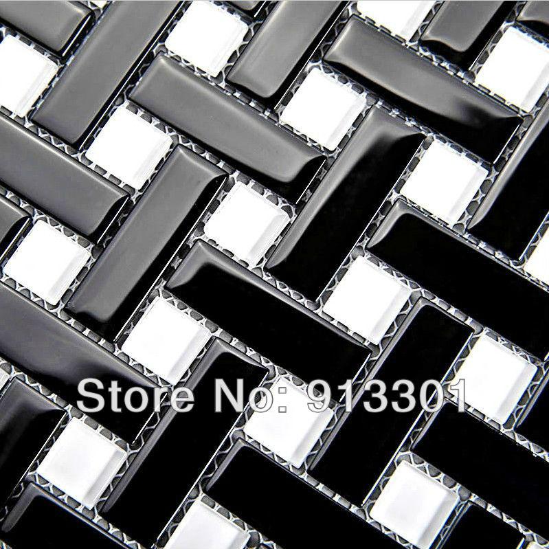 crystal glass tile backsplash deco mesh bathroom wall sticker shower design art discount kitchen polished mosaic floor surface(China (Mainland))