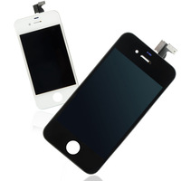 New High Quality Touch Screen Digitizer LCD Display Assembly For iPhone 4S 4GS Black / White BA004 Free Shipping