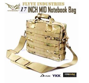 "(17"" Laptop)Genuine FLYYE All Molle 1000D Cordura Waterproof Nylon Tactical Notebook Messager Bag Laoptop Computer Shoulder Bags"