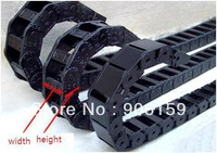 small CNC cable drag chain towline/Cable carrier /nylon plastic cable drag chains