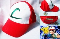 2014 Rushed Promotion Freeshipping Character Children Casual Unisex Cotton free Anime Japan Pokemon Small Hat Baseball Cap