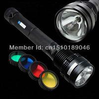 8500 Lumens 85W 65W 45W HID Xenon 8700mAh SOS Torch Flashlight Spotlight Lamp Light Lantern for Outdoor Hunting Hiking Camping