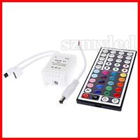 5set/lot 44-Key Wireless Infrared IR Remote Controller for RGB LED Light Strip(DC 12V)