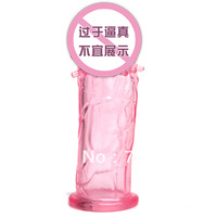 Free shipping, men's thickening, increased growth, penis, lock fine, delay, rings, Spike sets of crystal sets fun, sex products