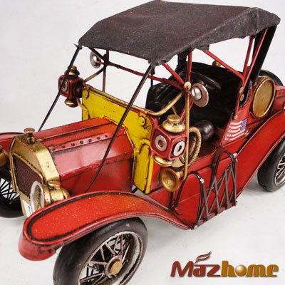 T FORD roadster antique model cars tin toys home decoration gift(China (Mainland))
