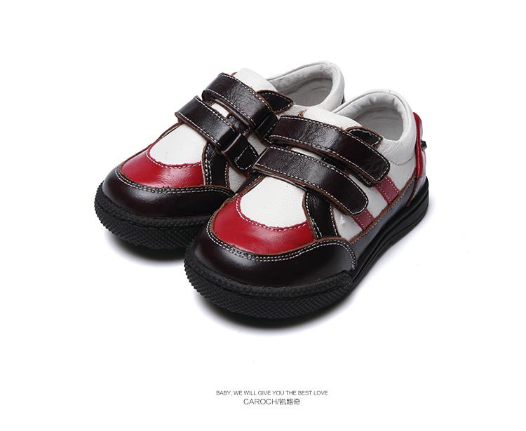 Кожаная обувь для мальчиков Caroch обувь для мальчиков