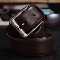 Black brown male strap women's belt genuine cowhide leather belt casual all-match trend