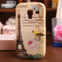 New High Quality Fashion Painted Design COVER SKIN PROTECTOR Back TPU Silicon CASE FOR Samsung i8160 Galaxy Ace 2