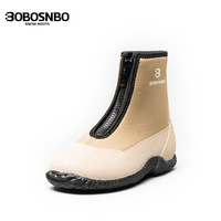 Man rain boots rainboots female male lovers boots slip-resistant thermal boots fashion waterproof shoes rubber shoes rain shoes