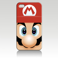 For iPhone 4 4S iphone 5 case mario ZC0939 Soft TPU phone cover Wholesale Retail