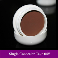 Free Shipping! Single Color Makeup cosmetic face Camouflage Concealer cream gel Palette cake pot 04#, 10 color option, dropship!