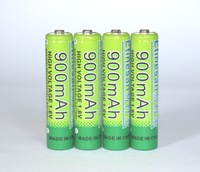 4 Pcs/lot 1.6v aaa 1000mAh rechargeable battery nizn Ni-Zn aaa 1.5v rechargeable battery Powerful than Ni-MH Ni-Cd battery