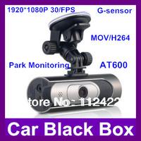 Car black box AT600 1.5 inch Full HD 1080P 30FPS car dvr Camcorder H.264 148 Degree Parking monitoring mode dash camera