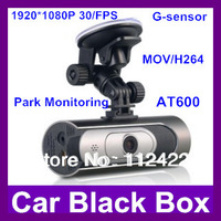 Car black box AT600 1.5 inch Full HD 1080P 30FPS car dvr Camcorder H.264 148 Degree Parking monitoring mode dash camera