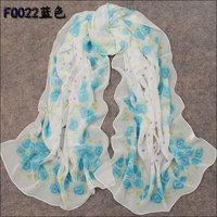 hot women winter scarf fashion style silk scarf polka velvet scarf chiffon Bohemia Scarf free shipping (SC040)