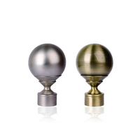 Curtain accessories rome rod qfe curtain rod head decoration 28mm metal ball