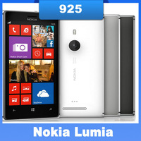 Lumia 925 original Nokia brand  Lumia 925 8MP camera 4.5inch touch screen LTE cellphone in stock one year warranty