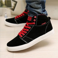 2013 fashion men's flat Casual shoes sneakers for men suede high quality winter shoes free shipping