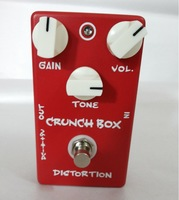 2013 New arrival Guitar Effect Pedal Distortion Crunch Box And True Bypass Design