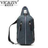 2014 New Promotion Freeshipping Men Zipper Solid Bolsa Handbags Man Bag Male Chest Pack Waist Fashion Casual Bags United States