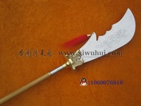 Free shipping Stainless steel wudangshan spring and autumn daguerreotypes - - guan gong knife