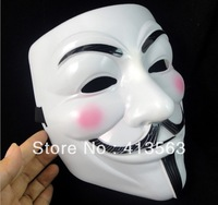 22X17X8CM V for vendetta team guy fawkes mask masquerade party horror Halloween carnival Masks 5pcs/lot