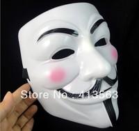 22X17X8CM V for vendetta team guy fawkes mask masquerade party horror Halloween carnival Masks 5pcs/lot
