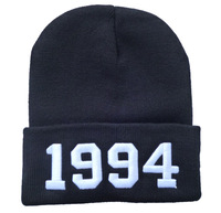 Free Shipping 1994 Hat Hip Hop Beanies Winter Hat Dope,Supreme Vogue Belieber beanie Bad Hair Day Winter Hat