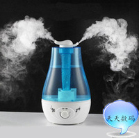 Desktop humidifier double nozzle for the large capacity household ultrasonic humidifier 3