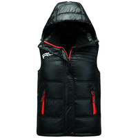 Rlx male outdoor Men down vest cold thermal down vest male