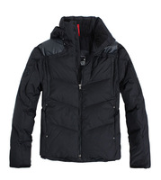 2012 winter rlx down coat male short design outdoor ski suit outerwear thick