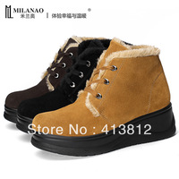 2013 New Brand Women Wedges flash thermal fashionable casual snow boots,Female Winter warm outdoor ankle snow boots,3 colors